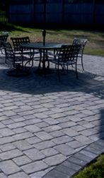 EP HENRY Old Towne cobble patio medallion