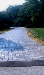 2600 Square Foot Paver Driveway