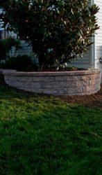 Small Retaining Garden Wall