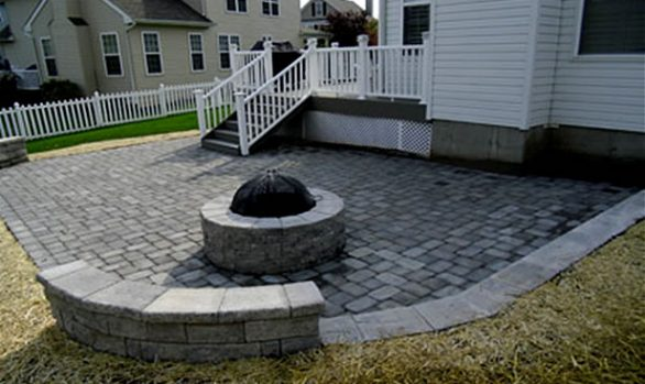 Paver Fireplaces | Firepits