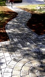 Paver Patio and Walk