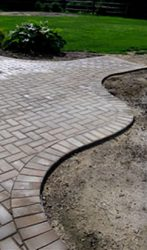 Brickstone patio