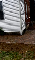 Simple Paver Patio & Walk