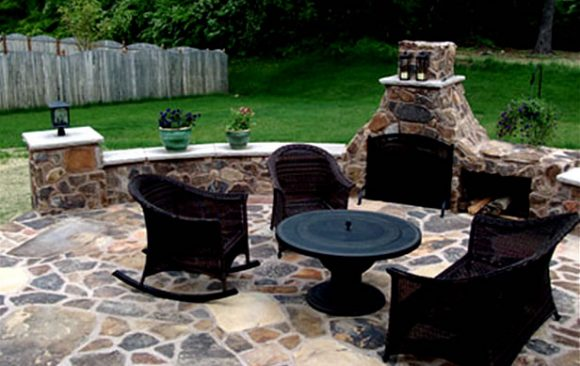 Stone Fireplaces | Firepits