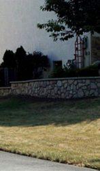 Double terrace Stone wall