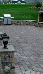 Stone staircases, Fire place and Paver patio (1)