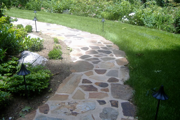 Stone Walkways Archives Landesign Hardscapes And Masonry