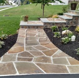 Stone Walkways Landesign Hardscapes and Masonry